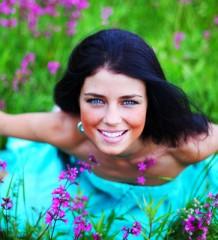 happy-woman-in-field